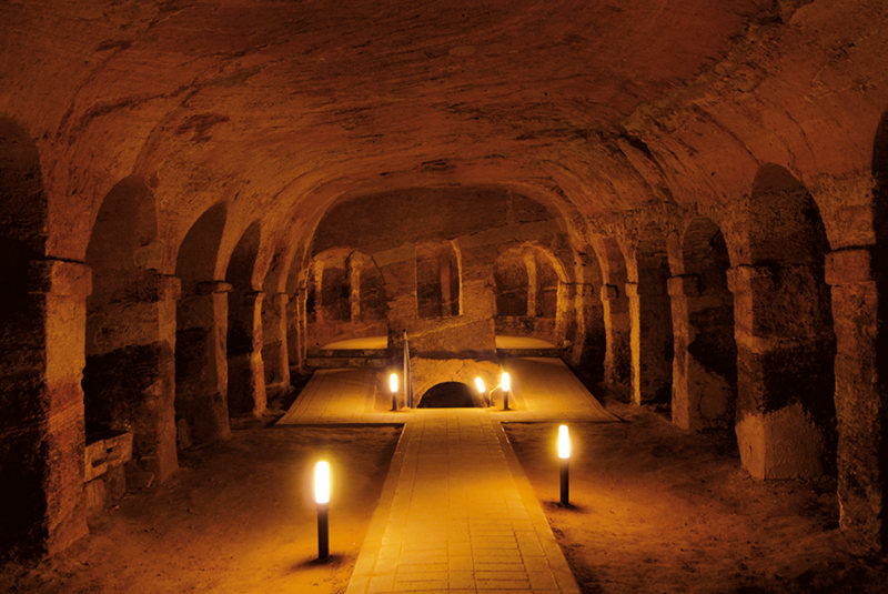 Camerano caves in Ancona